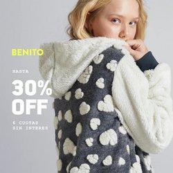 Ofertas de Benito Fernandez en el catálogo de Benito Fernandez ( 12 días más)