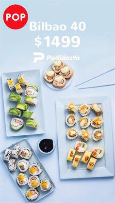 Ofertas de Restaurantes en el catálogo de Sushi Pop en San Isidro (Buenos Aires) ( Publicado ayer )