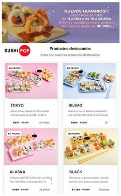 Ofertas de Sushi Pop en el catálogo de Sushi Pop ( Vencido)
