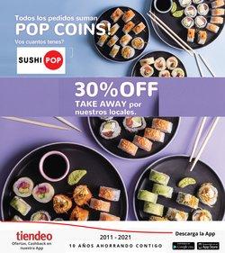 Ofertas de Sushi Pop en el catálogo de Sushi Pop ( Vence hoy)