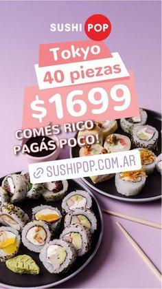 Ofertas de Restaurantes en el catálogo de Sushi Pop ( 4 días más)
