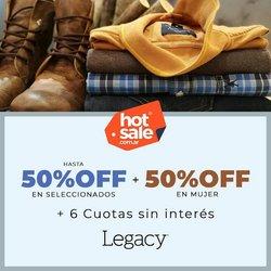 Ofertas de Legacy en el catálogo de Legacy ( Vencido)
