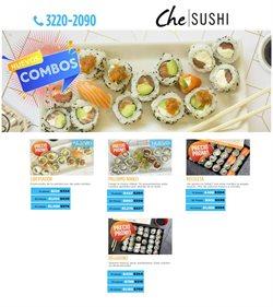 Ofertas de Che Sushi  en el folleto de Villa Carlos Paz