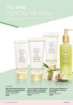 Ofertas de Spa en Mary Kay
