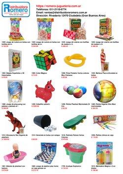 Ofertas de Juguetes, Niños y Bebés en el catálogo de Romero Juguetes ( 8 días más)
