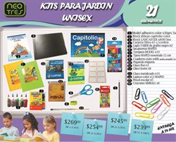 Ofertas de Libros y ocio  en el folleto de Neotres en Buenos Aires