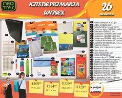 Ofertas de Autor  en el folleto de Neotres en Buenos Aires
