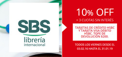 Ofertas de Sbs Librería  en el folleto de Buenos Aires