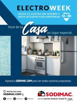 Ofertas de Electrónica y Electrodomésticos en el catálogo de Sodimac ( 10 días más)