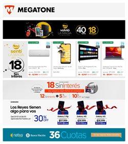 Ofertas de Electrónica y Electrodomésticos en el catálogo de Megatone en San Miguel de Tucumán ( Caduca hoy )