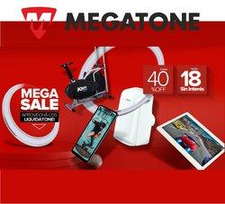 Ofertas de Electrónica y Electrodomésticos en el catálogo de Megatone ( 7 días más)