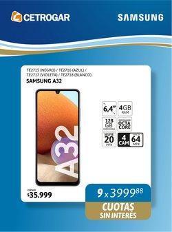 Ofertas de Samsung en el catálogo de Cetrogar ( 2 días más)