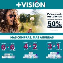 Ofertas de Farmacias y Ópticas en el catálogo de +Vision ( 11 días más)