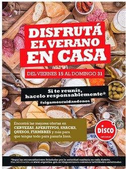 Catálogo Disco en Castelar ( 8 días más )
