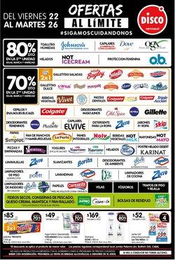 Ofertas de Hiper-Supermercados en el catálogo de Disco en Mar del Plata ( Caduca hoy )