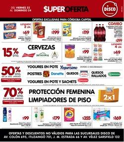 Ofertas de Hiper-Supermercados en el catálogo de Disco en Villa Carlos Paz ( Caduca mañana )