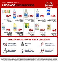 Ofertas de Hiper-Supermercados en el catálogo de Disco en Córdoba ( Publicado ayer )