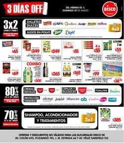 Ofertas de Hiper-Supermercados en el catálogo de Disco en Córdoba ( Caduca mañana )