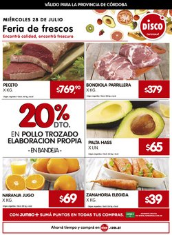 Ofertas de Hiper-Supermercados en el catálogo de Disco ( Vence hoy)