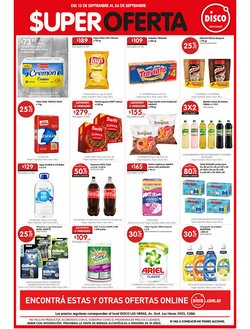 Ofertas de Hiper-Supermercados en el catálogo de Disco ( Publicado ayer)