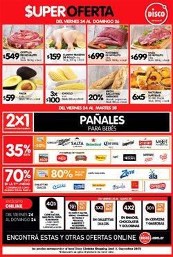 Ofertas de Hiper-Supermercados en el catálogo de Disco ( Vence mañana)