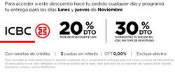 Ofertas de Disco  en el folleto de Córdoba