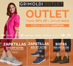 Ofertas de Ropa, Zapatos y Accesorios en el catálogo de Grimoldi ( 20 días más)