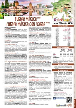 Ofertas de Comedor en Europamundo
