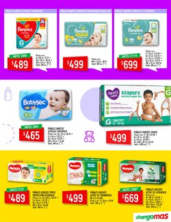 Ofertas de Pampers en Changomas