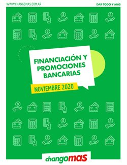Ofertas de Financiación en Changomas