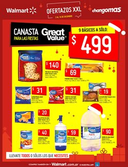 Ofertas de Great Value en Changomas