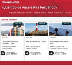 Ofertas de Viajes en el catálogo de Ati Viajes ( 6 días más)
