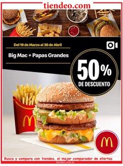 Ofertas de Restaurantes en el catálogo de McDonald's en Buenos Aires ( 17 días más )