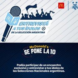 Catálogo McDonald's ( Vence mañana)