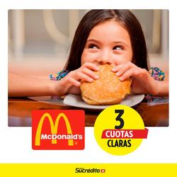 Ofertas de Restaurantes  en el folleto de McDonald's en Cosquín