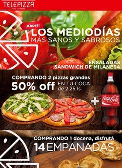 Ofertas de Restaurantes  en el folleto de Telepizza en Chascomús