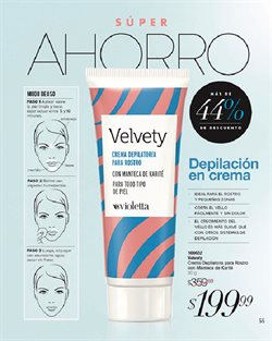 Ofertas de Crema depilatoria en Violetta Fabiani