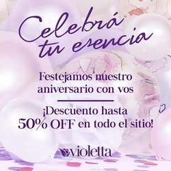 Ofertas de Violetta Fabiani en el catálogo de Violetta Fabiani ( 14 días más)