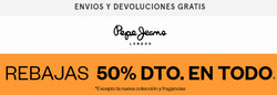 Cupón Pepe Jeans en Quilmes ( 2 días publicado )