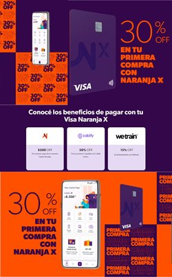 Ofertas de Bancos y Seguros en el catálogo de Tarjeta Naranja en Córdoba ( Caduca mañana )