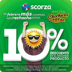 Ofertas de Scorza Hogar  en el folleto de Córdoba