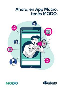 Ofertas de Bancos y Seguros en el catálogo de Banco Macro ( Más de un mes)