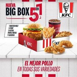 Ofertas de KFC en el catálogo de KFC ( 5 días más)