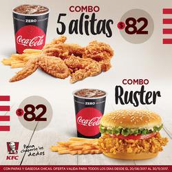 Ofertas de KFC  en el folleto de Buenos Aires