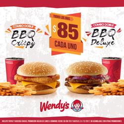 Ofertas de Restaurantes  en el folleto de Wendy's en Castelar