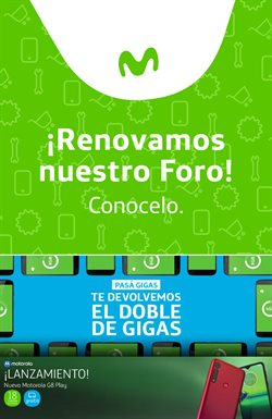 Ofertas de Movistar  en el folleto de La Plata
