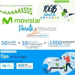 Ofertas de Electrónica y Electrodomésticos en el catálogo de Movistar ( 18 días más)