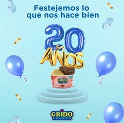 Ofertas de Restaurantes en el catálogo de Grido Helado en Necochea ( Caduca mañana )