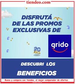 Ofertas de Restaurantes en el catálogo de Grido Helado en Buenos Aires ( 17 días más )