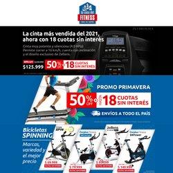 Ofertas de Deporte en el catálogo de La Casa del Fitness ( Publicado hoy)